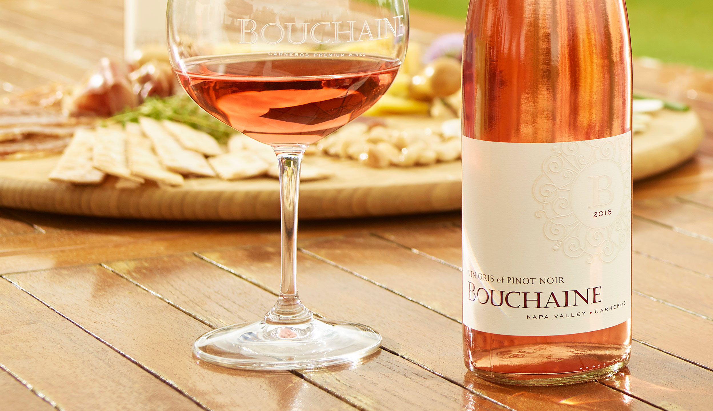 Bouchaine Winery Carneros Vin Gris of Pinot Noir