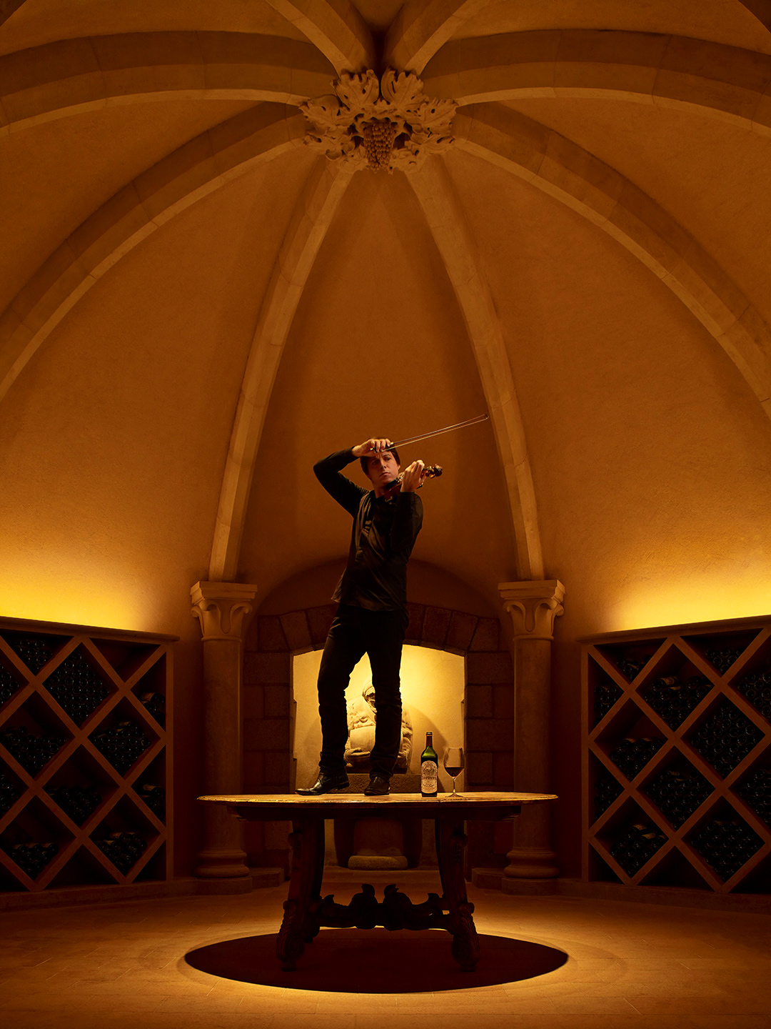 Far Niente Winery, Joshua Bell,  Photography by Brandon McGanty