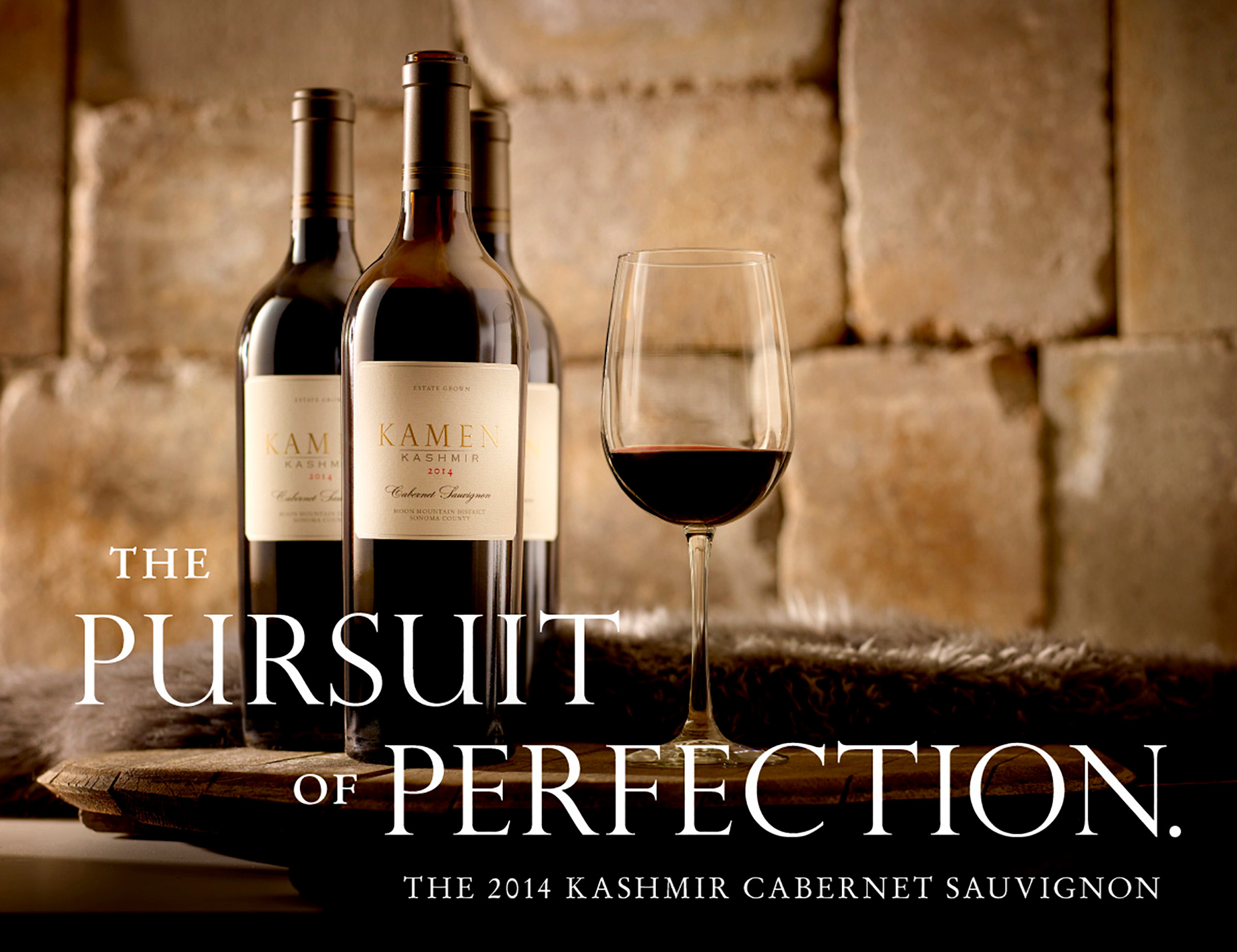 Kamen Cabernet Sauvignon Wine Photography by Brandon McGanty